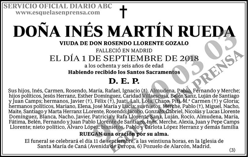 Inés Martín Rueda